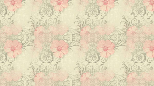 Free Vintage Rose Flower Twitter Background