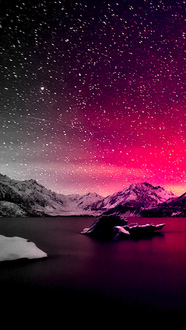 Free Winter Night iPhone 5s Background Download