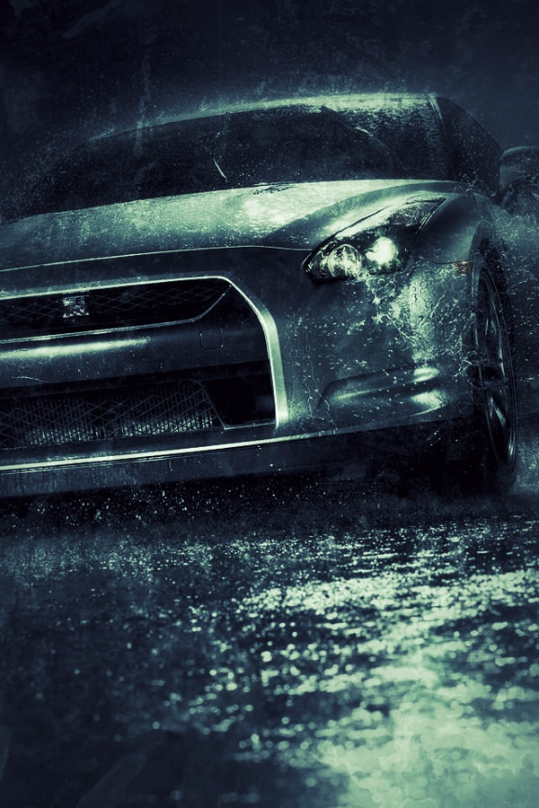 Free iPhone 5s Car Background