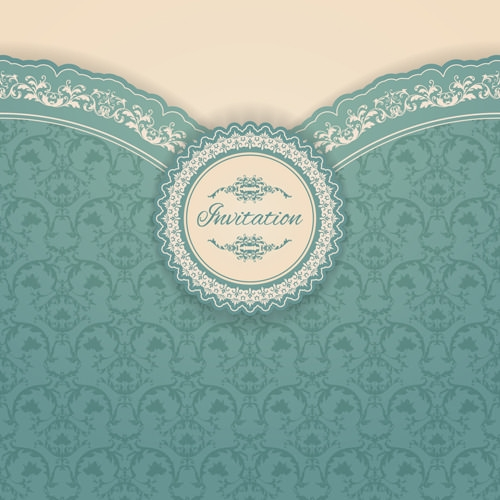 Free vector Ornate Vintage Floral Background Design