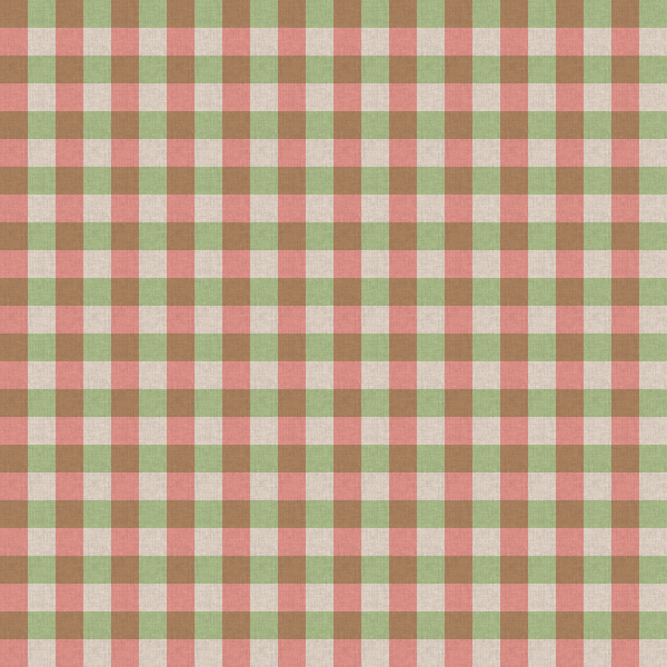 Green and Red Checker Table Cloth