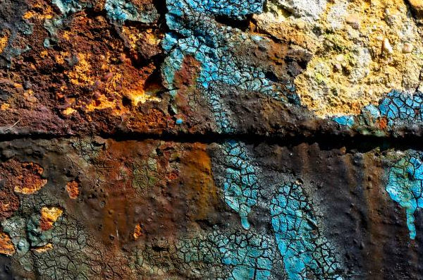 Grunge Peeling Rough Wall Texture