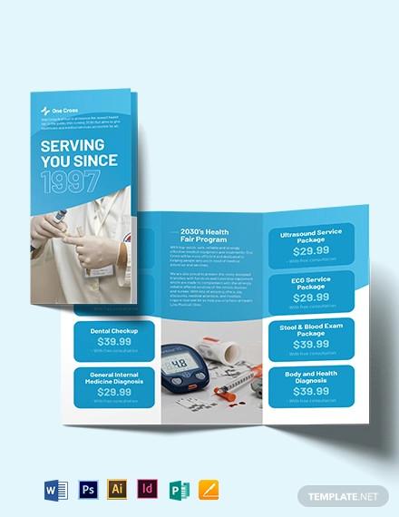 21+ PSD Health Brochure Medical Brochure FreeCreatives