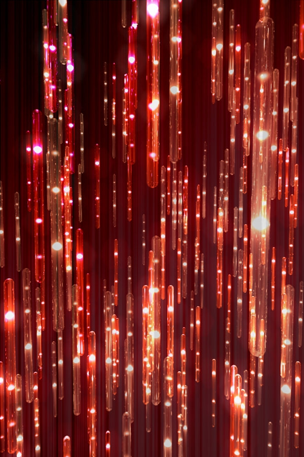 Hi-Fi Enhancement Red iPhone Wallpaper