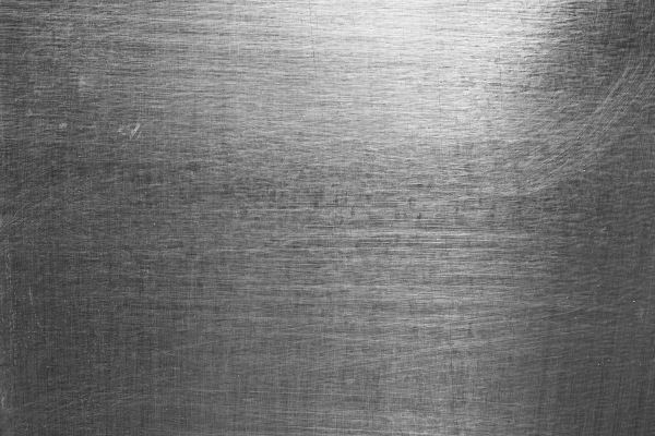 High Contrast Brushed and Scratched Metal Sheet Texture