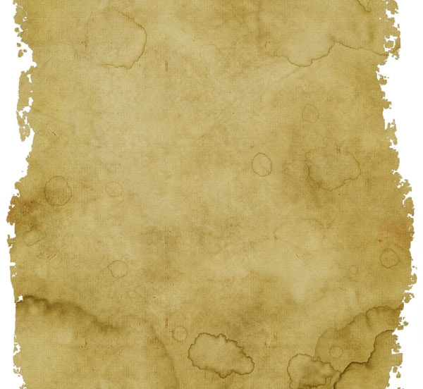 High Quality Old Paper Texture with Torn and Ripped Borders