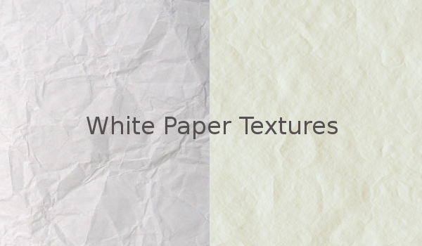High Quality White Paper Texture