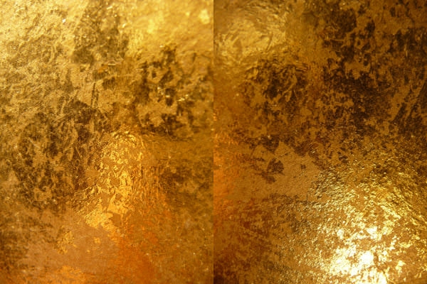 High Res Gold Metallic Texture