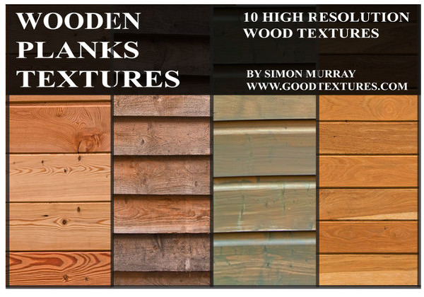 High Res Wooden Planks Textures