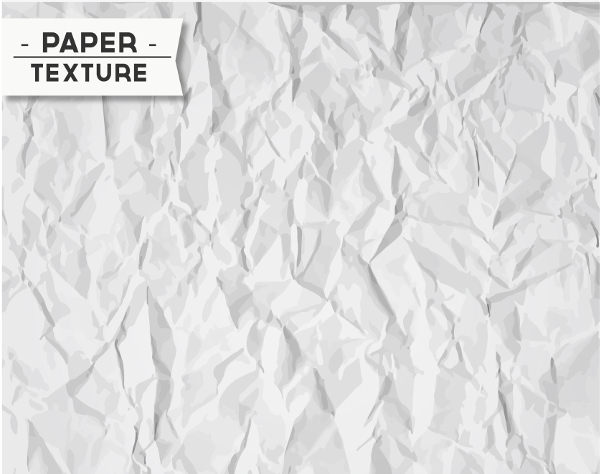 High Res Wrinkled Paper Texture with Vector Layers