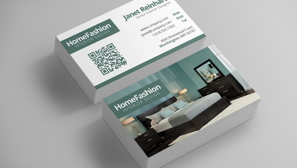 Free 12 Awesome Interior Design Business Card Templates In Ms Word Psd Ai Apple Pages Publisher