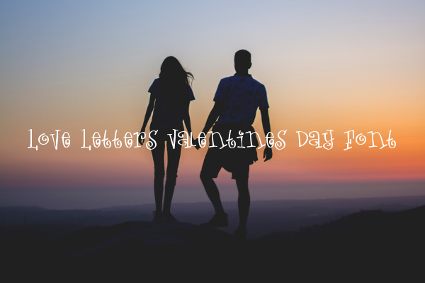 Love Letters Valentines Day Font