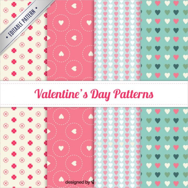 Lovely Valentines Day Pattern Collection