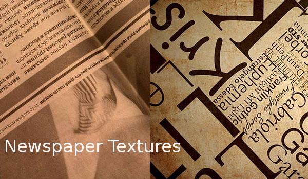 Newspaper Textures