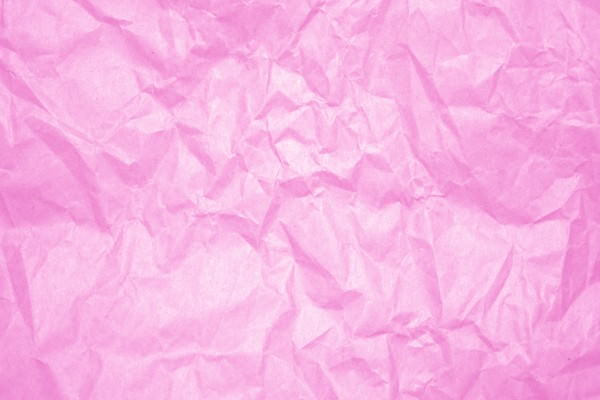 Pink Crumpled Paper Texture