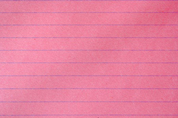 Pink Notebook paper Texture