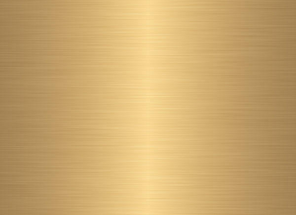 Plain Shiny Gold Brushed Metal Texture