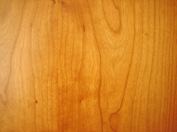 Polished Cherry Wood Texture