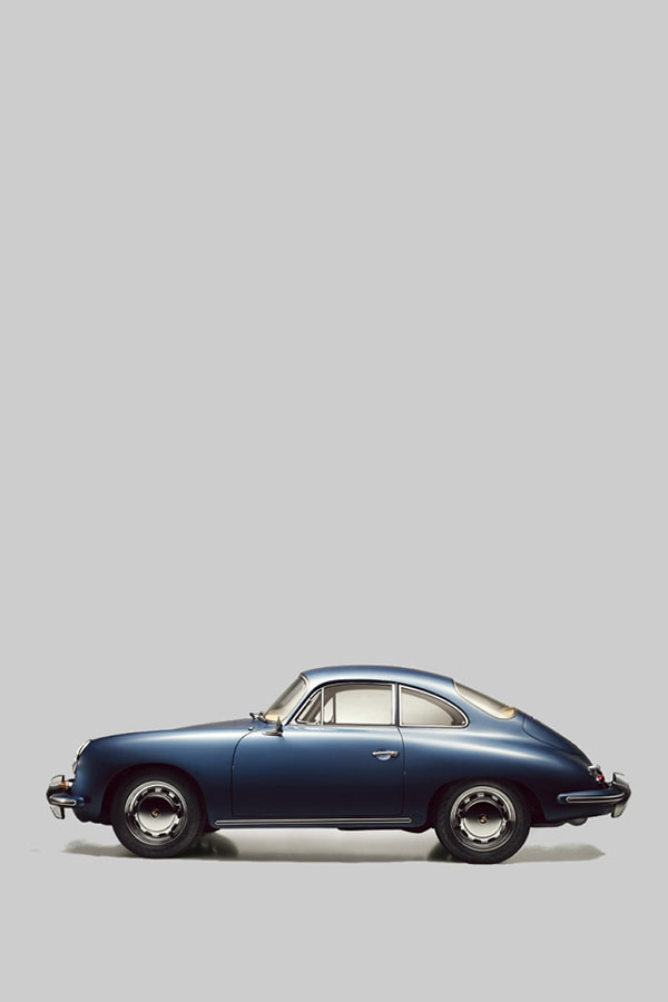 Porsche 356B Concept Art iPhone 4 Background