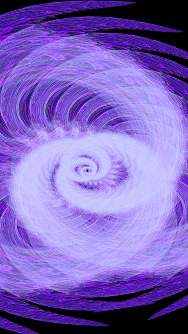 Pretty Purple Cyclone iPhone 5 Background