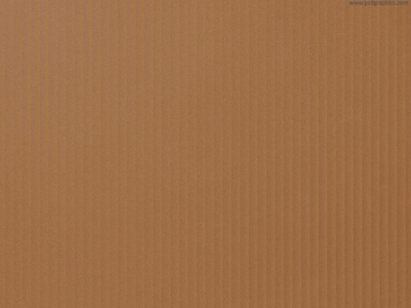 Recycled Brown Cardboard Texture