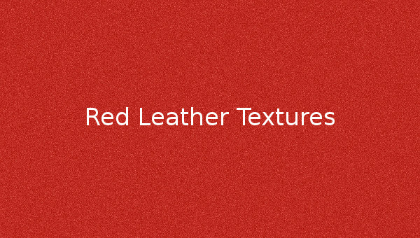 Red Leather Textures