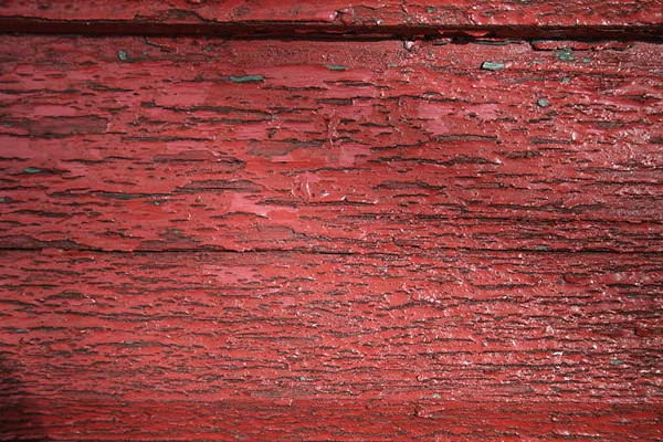 Red Painted Old Wood Texture