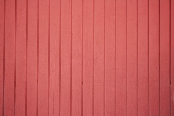 Red Painted Vertical Siding Texture