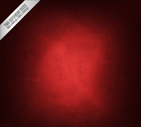 Red Vintage Background in Grungy Style