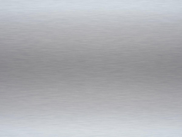 Rendered Brushed Aluminium or Steel Background Texture