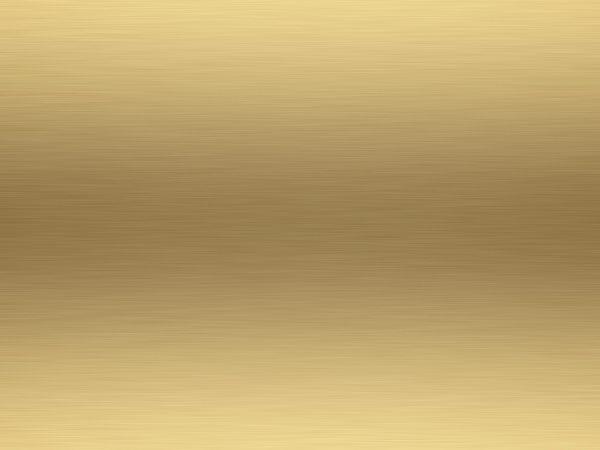 Rendered Brushed Gold Metal Background Texture