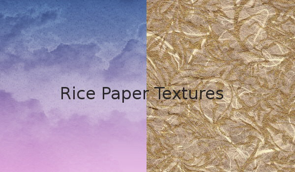 Rice paper textures Collection