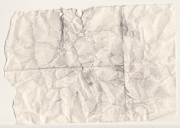 Ripped and Folded Paper Texture