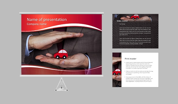 Safety Driving PowerPoint Template