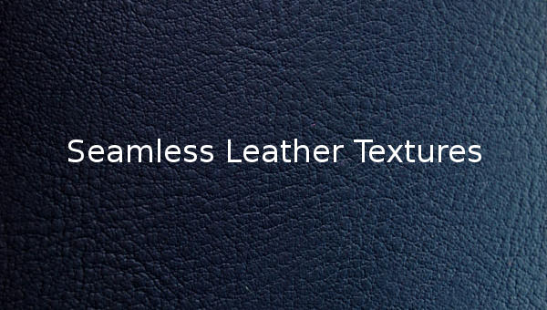 Seamless Leather Textures