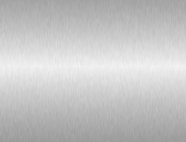 sheet of aluminium brushed metal texture