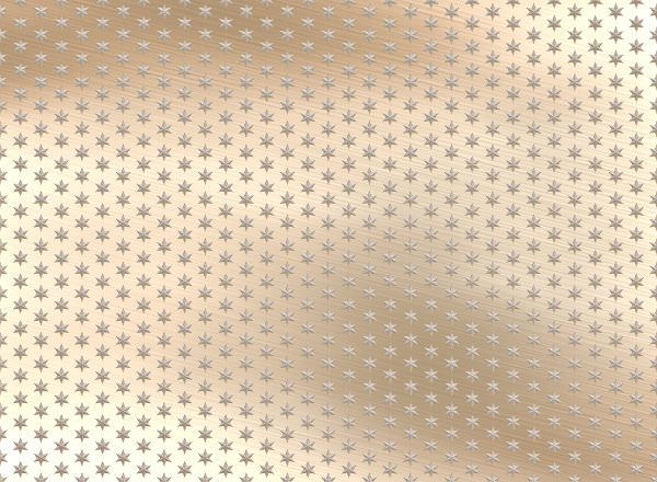 Shiny Metal with Small Stars Background Texture