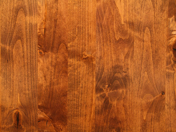 Shiny Smooth Cherry Wood Texture