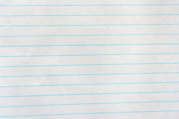 simple notebook paper texture