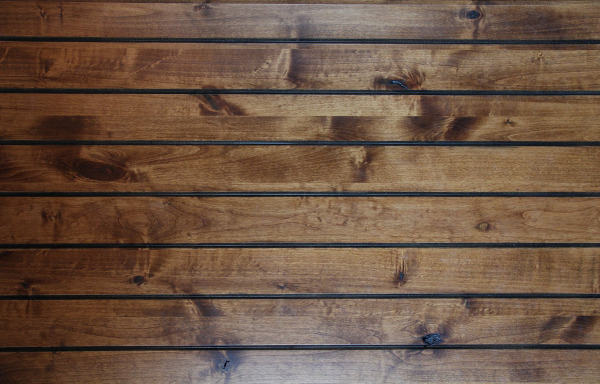 Smooth Oak Wood Wall Plank Stock Texture