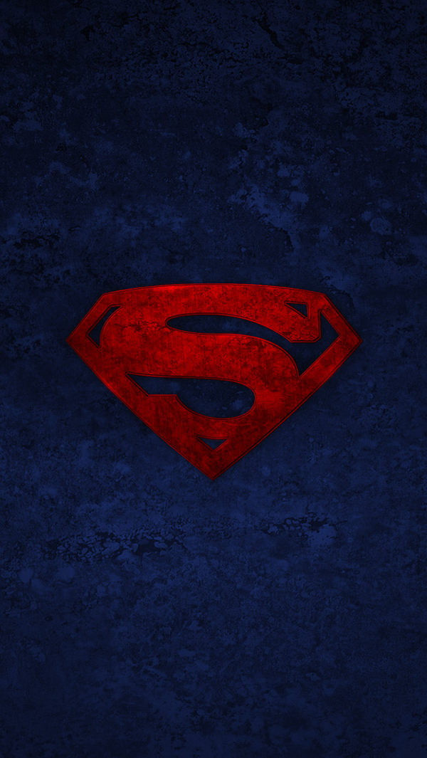 Superman Logo iPhone 5s Background For Free