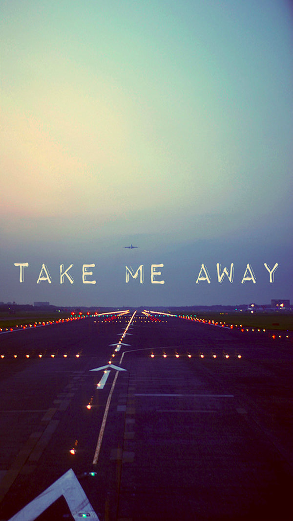 Take Me Away iPhone 5s Backgrounds