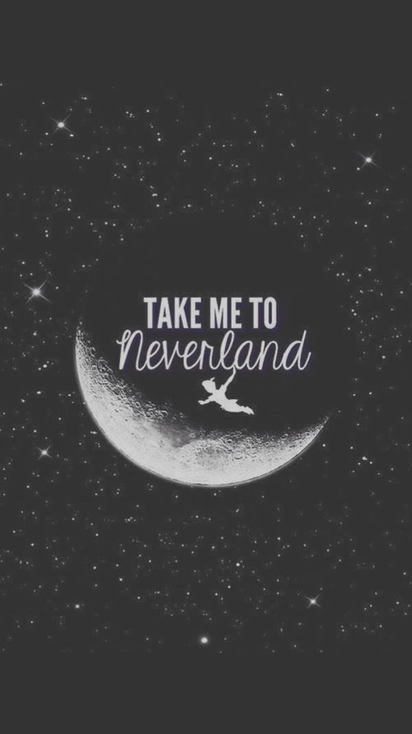Take Me To Neverland iPhone 6 Background