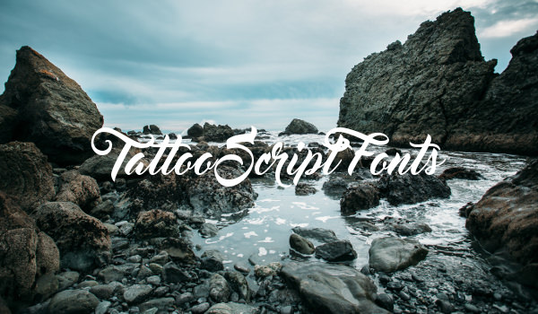 Tattoo Script Fonts