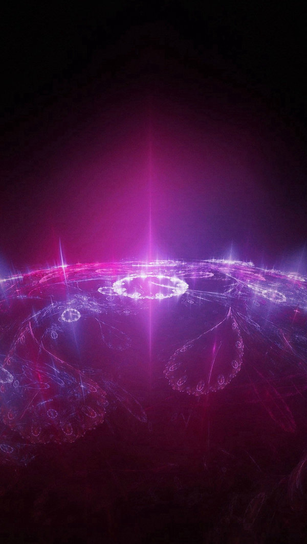 Time Travel Red Dark Space iPhone 5s Background