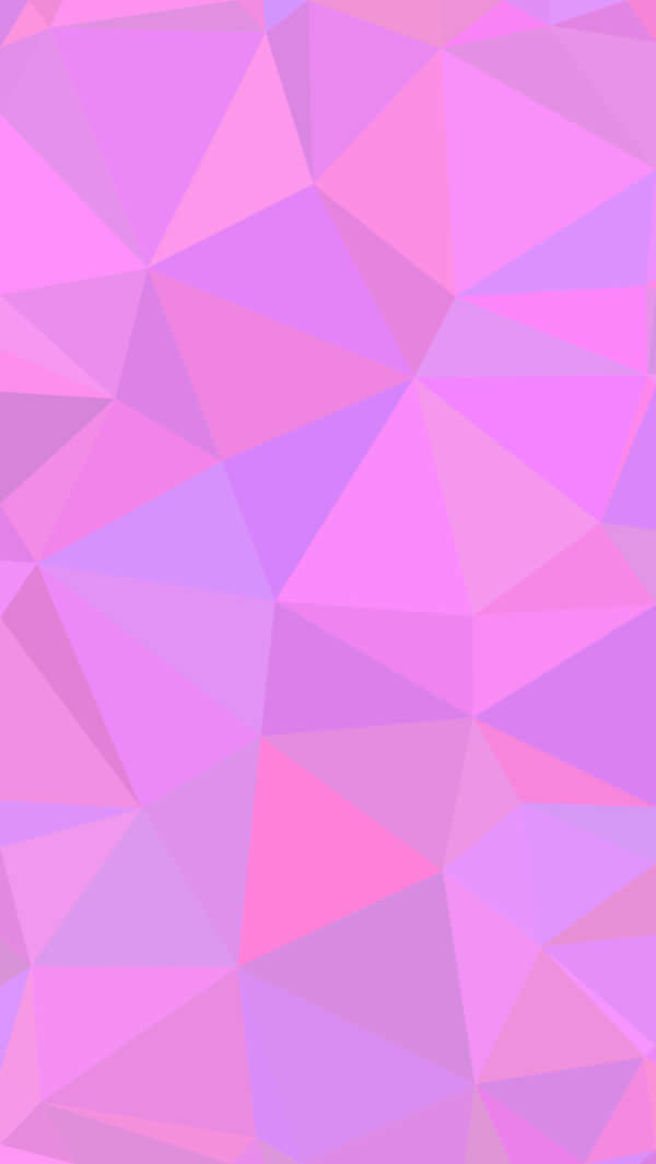 Triangle Pink iPhone Background For Download