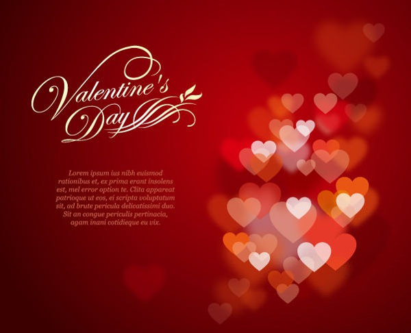 Valentine's Day Greeting Card For Free