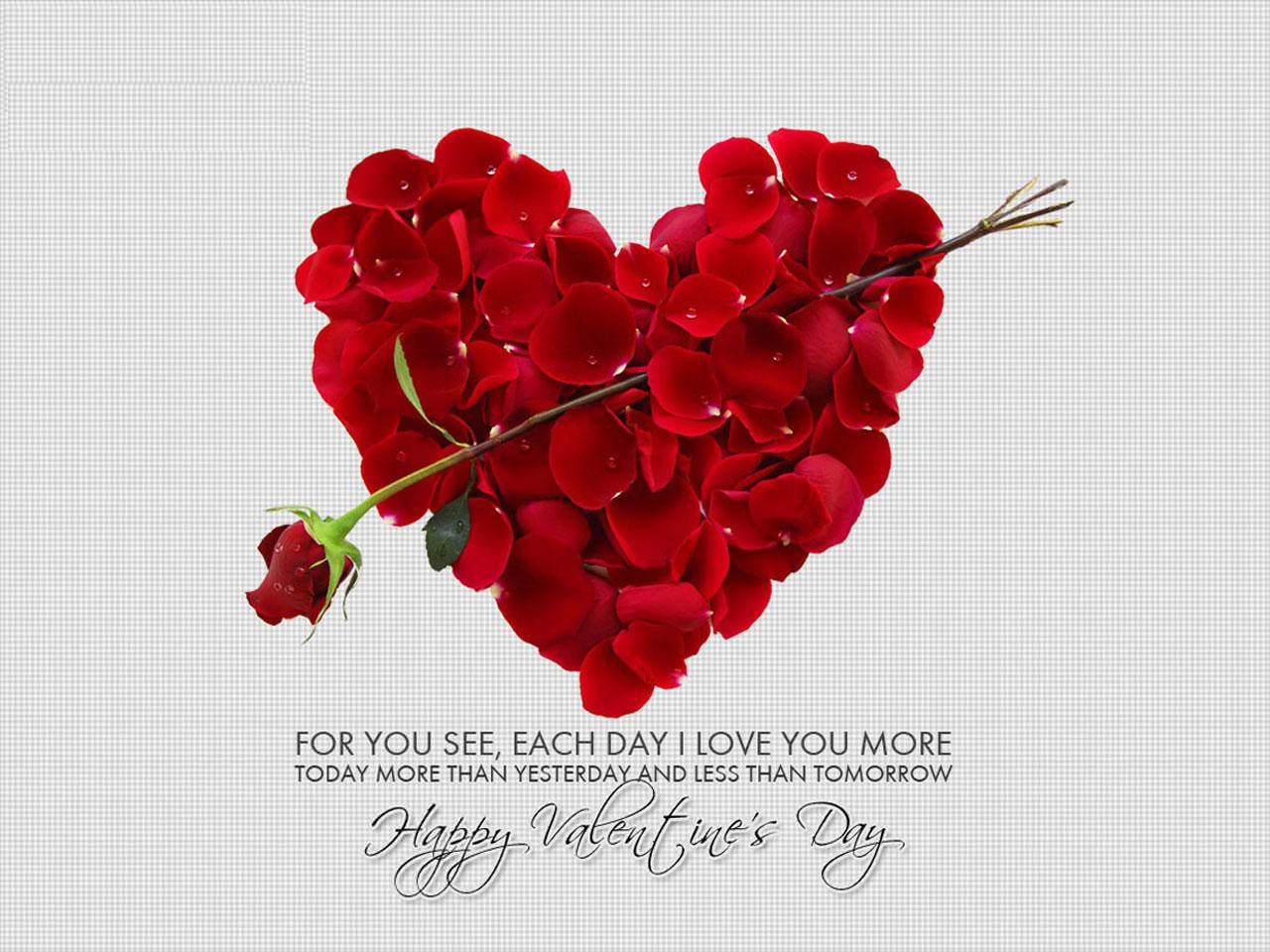 21 free valentine 39 s day wallpapers freecreatives - Valentine s day flower wallpaper ...
