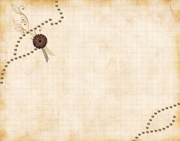 Vintage Twitter Floral Background