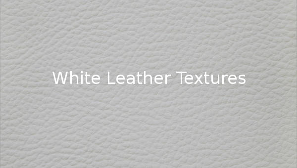 White Leather Textures